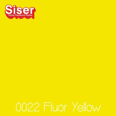 Siser P.S. Film Flexfolie (EasyWeed) Fluo Yellow