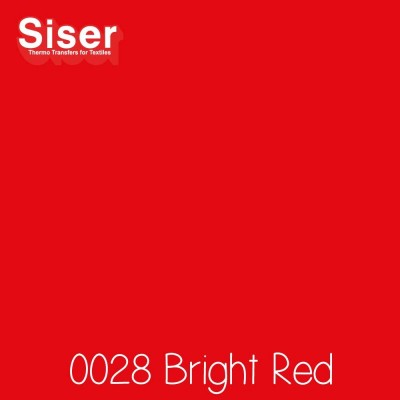 Siser P.S. Film Flexfolie (EasyWeed) Bright Red