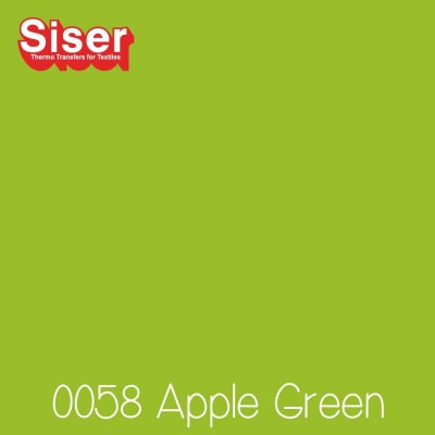 Siser P.S. Film Flexfolie (EasyWeed) Apple Green