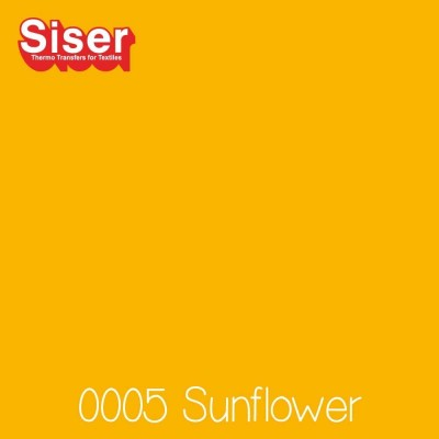 Siser P.S. Stretch flexfolie (Easyweed) Sunflower