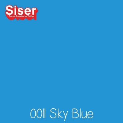Siser P.S. Stretch flexfolie (Easyweed) Sky Blue