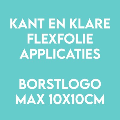 Borstlogo applicatie flex