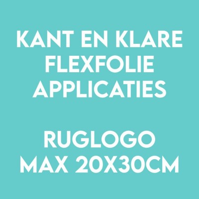 Ruglogo applicatie flex